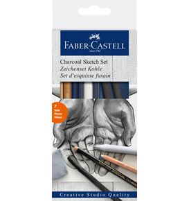 Faber-Castell - Charcoal Sketch set