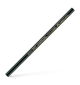 Faber-Castell - Pitt natural charcoal pencil, oil-free, black hard
