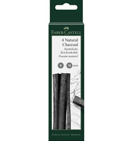 Faber-Castell - Pitt natural charcoal sticks 9-15mm