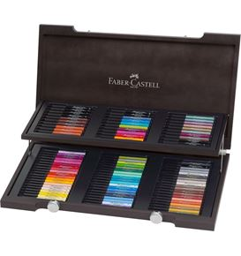 Faber-Castell - India ink Pitt Artist Pen woodcase gift set of 90