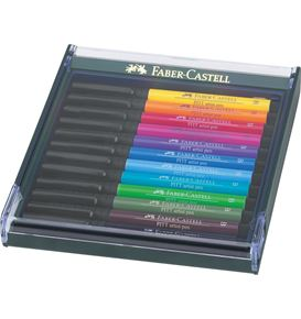 Faber-Castell - India ink Pitt Artist Pen B 12x Bright