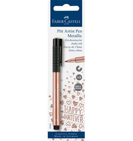 Faber-Castell - India ink Pitt Artist Pen colour copper