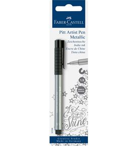 Faber-Castell - Pitt Artist Pen Metallic 1.5 India ink pen, silver