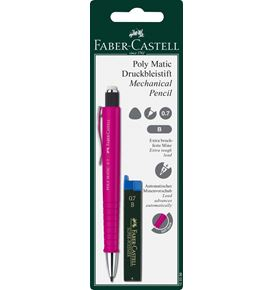 Faber-Castell - Grip Matic mechanical pencil set, 0.7 mm, 2 pieces