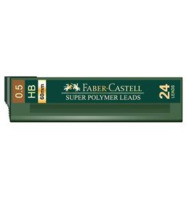 Faber-Castell - 1245 fineline lead, HB, 0.5mm