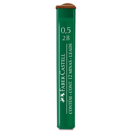 Faber-Castell - OF91252BEU Polymer fineline lead, 0.5 mm, 2B
