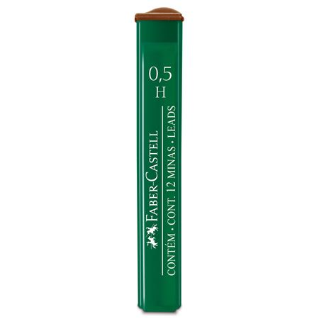 Faber-Castell - OF9125HEU Polymer fineline lead, 0.5 mm, H