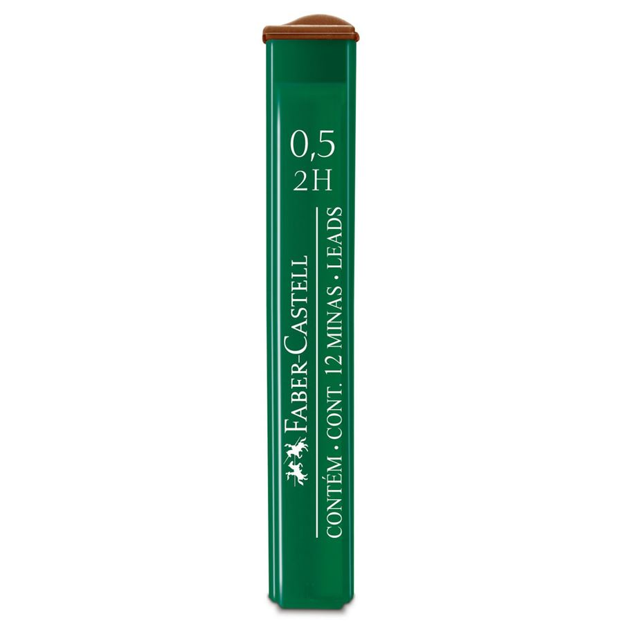 Faber-Castell - OF91252HEU Polymer fineline lead, 0.5 mm, 2H