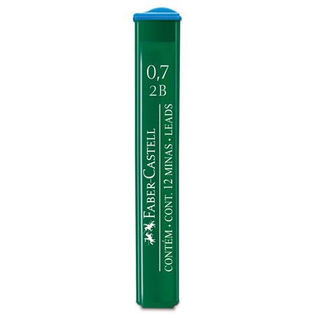 Faber-Castell - OF91272BEU Polymer fineline lead, 0.7 mm, 2B