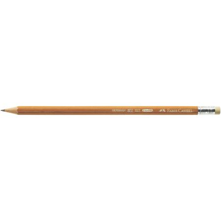 Faber-Castell - 1117 graphite pencil with eraser, HB