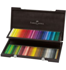 Faber-Castell - Polychromos colour pencil, wooden case of 120
