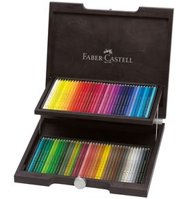 Faber-Castell - Colour Pencil Polychromos wood case of 72