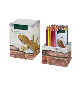 Faber-Castell - Polychromos colour pencil, cup of 68, Fan Edition