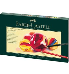Faber-Castell - Polychromos colour pencil, gift set, Mixed Media