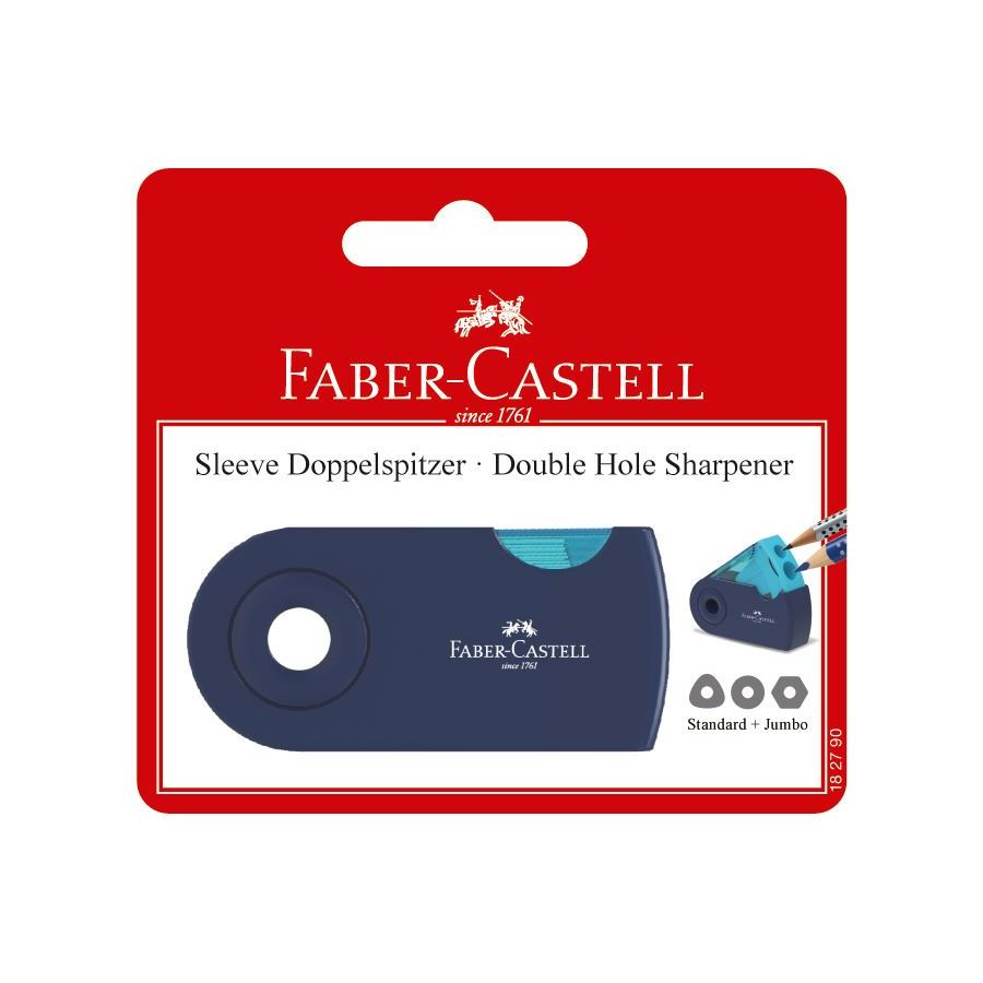 Faber-Castell - Sleeve twin sharpening box, trend colours