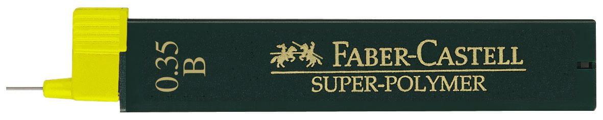 Faber-Castell Feinminen Super-Polymer 0,35 HB VE=12 St/ück