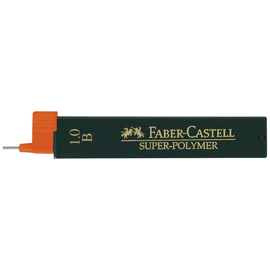 Faber-Castell - Super-Polymer fineline lead, B, 1.0 mm
