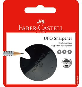 Faber-Castell - Ufo sharpener, red/blue/black, sorted, set of 1
