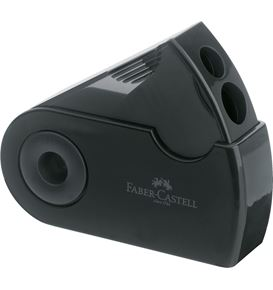 Faber-Castell - Sleeve twin sharpening box, black