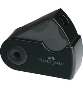 Faber-Castell - Single hole sharpening box Sleeve Mini black