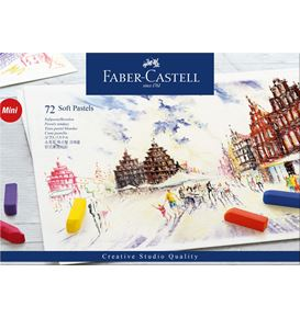 Faber-Castell - Soft pastels Mini cardboard box of 72