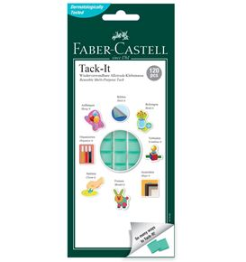 Faber-Castell - Adhesive Tack-It 187091 75g green