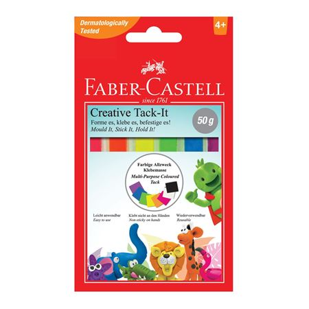 Faber-Castell - Tack-it adhesive, creative set