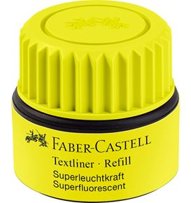 Faber-Castell - Textliner 1549 refill system, yellow