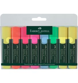 Faber-Castell - Textliner 48 Superfluorescent, wallet of 8