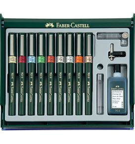 Faber-Castell - TECHMATE Set of 4 0.20/0.40/0.60/0.80