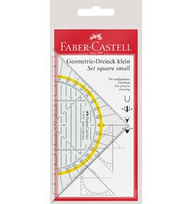 Faber-Castell - Set square, small, 14 cm