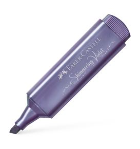 Faber-Castell - Highlighter TL 46 Metallic shimmering violet