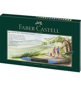 Faber-Castell - Albrecht Dürer Watercolour Marker, gift set, 17 pieces