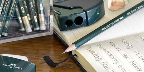 The classic green black-lead pencils