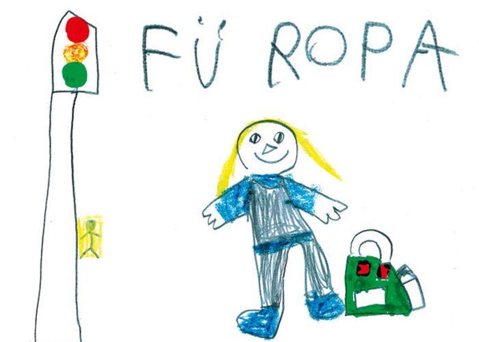 Development of child drawings
